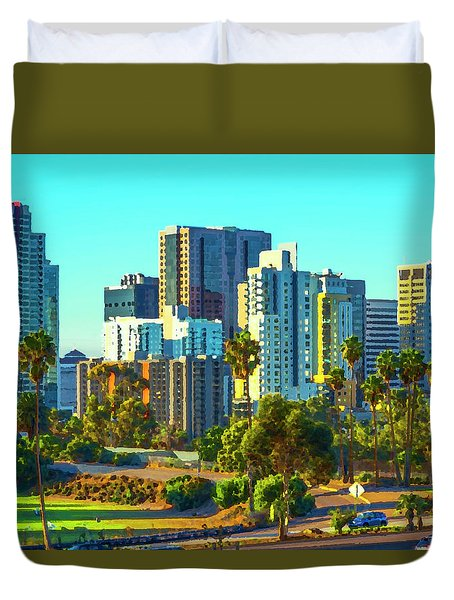 Pretty City Duvet Cover