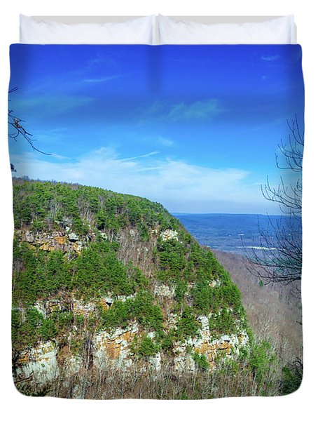 Above The Canyon Duvet Cover