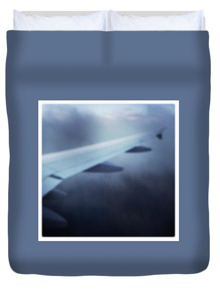 Above The Clouds 04 - Dreaming Duvet Cover by Matthias Hauser