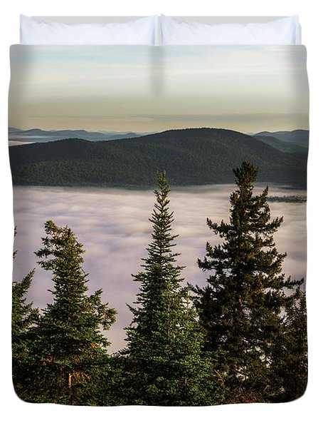 Above The Clouds Duvet Cover