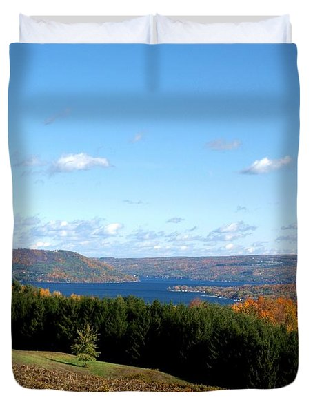 Above The Vines Duvet Cover