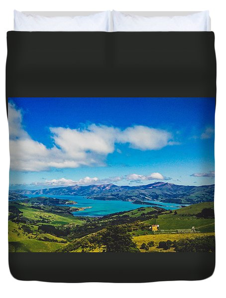 Above To Below Duvet Cover
