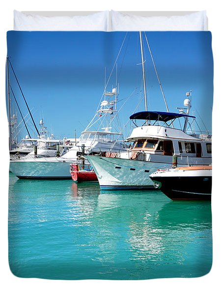 Above Water Duvet Cover
