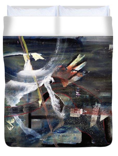 Abracadabra Duvet Cover by Antonio Ortiz