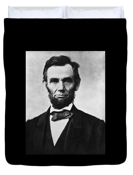 Abraham Lincoln Duvet Cover by War Is Hell Store