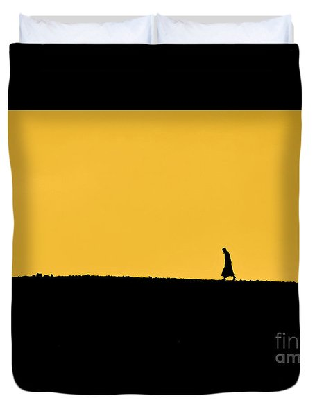 Abraham's Journey Duvet Cover