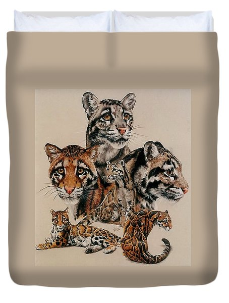 Absence Of Fear Duvet Cover