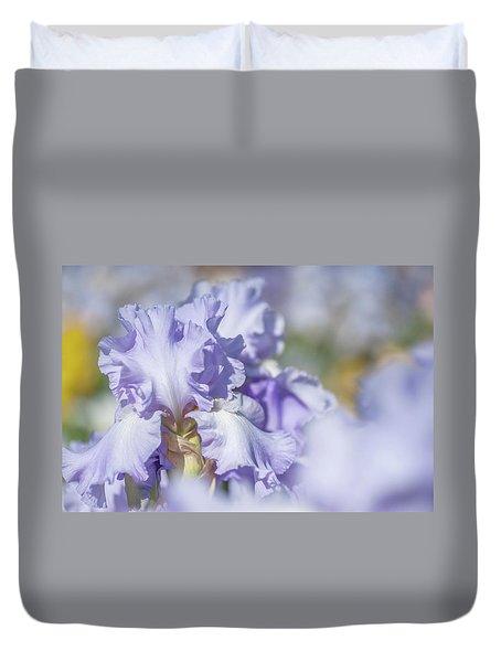 Absolute Treasure 1. The Beauty Of Irises Duvet Cover