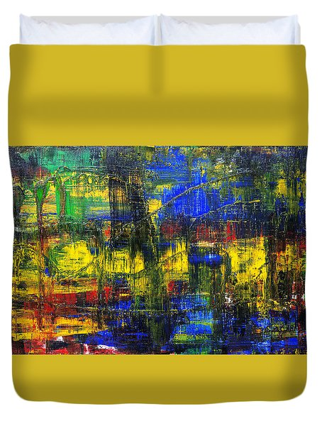 Abstract # 2  Duvet Cover