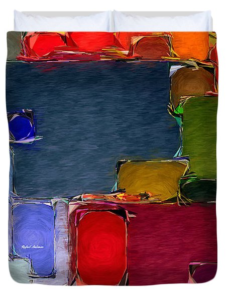 Abstract 005 Duvet Cover
