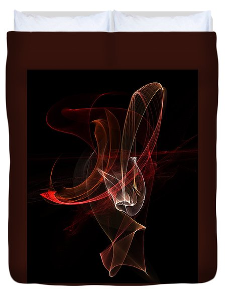 Abstract 01 Duvet Cover by Gordon Engebretson