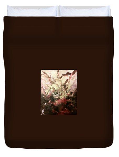 Abstract #01 Duvet Cover by Raymond Doward