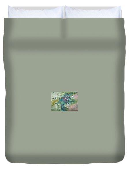 Abstract #012 Duvet Cover by Raymond Doward