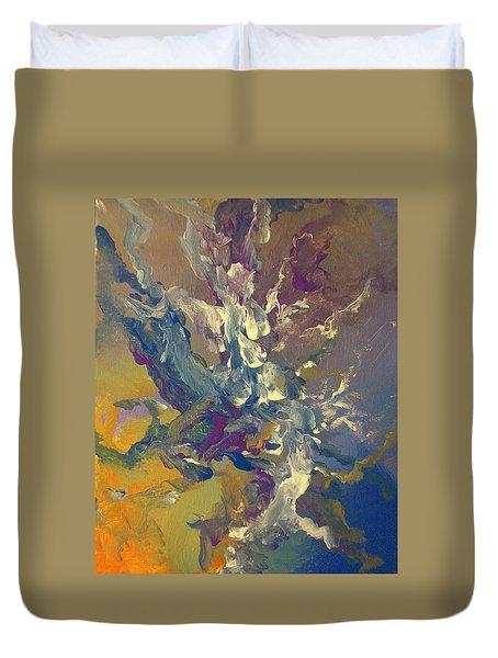 Abstract #016 Duvet Cover by Raymond Doward