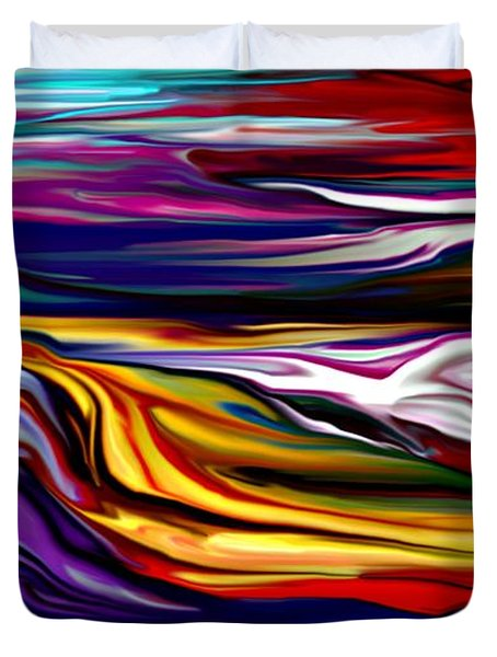 Abstract 06-12-09 Duvet Cover by David Lane