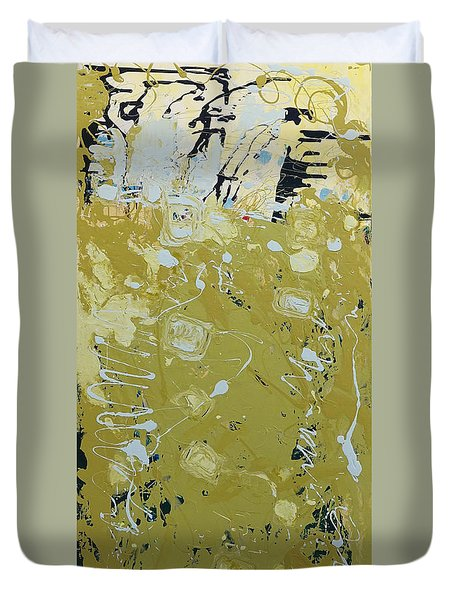 Abstract 1014 Duvet Cover