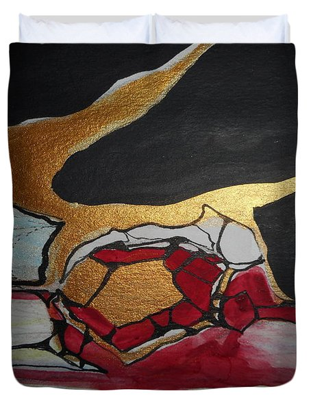 Abstract-11 Duvet Cover
