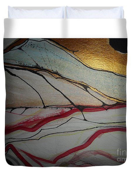 Abstract-12 Duvet Cover