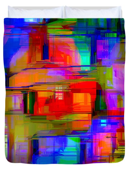 Abstract 1293 Duvet Cover