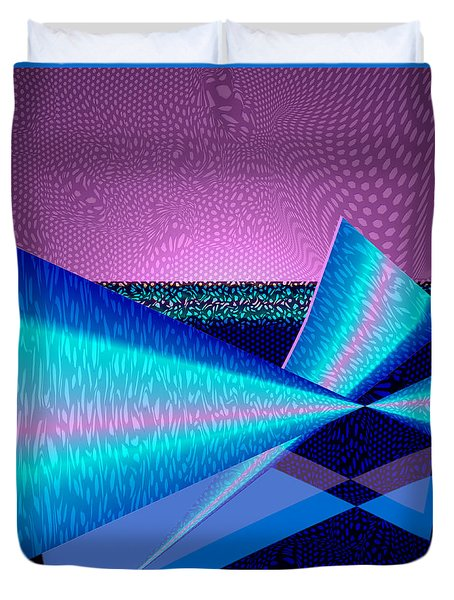 Abstract 17b Duvet Cover