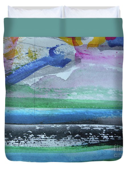 Abstract-18 Duvet Cover
