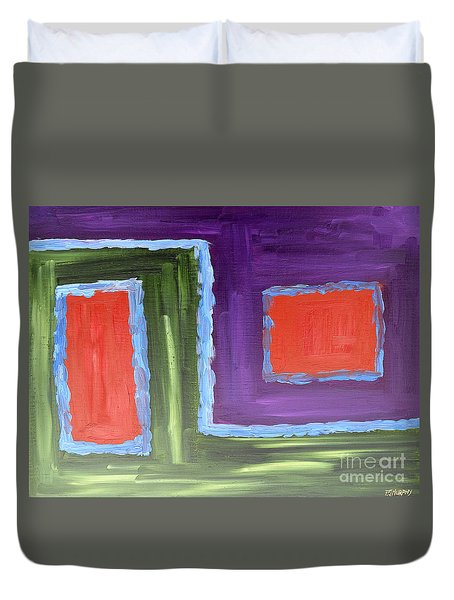 Abstract 200 Duvet Cover by Patrick J Murphy