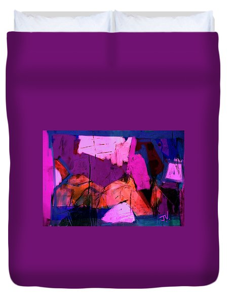Abstract 21sept2015 Duvet Cover by Jim Vance