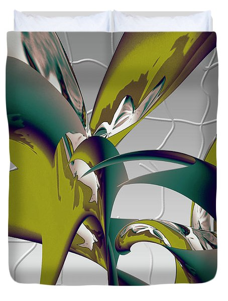 Abstract 2258 Duvet Cover