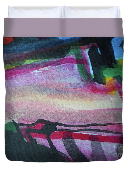 Abstract-25 Duvet Cover