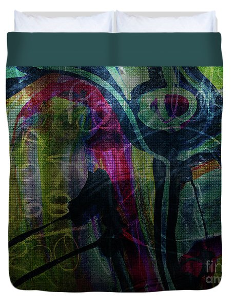 Abstract-30 Duvet Cover