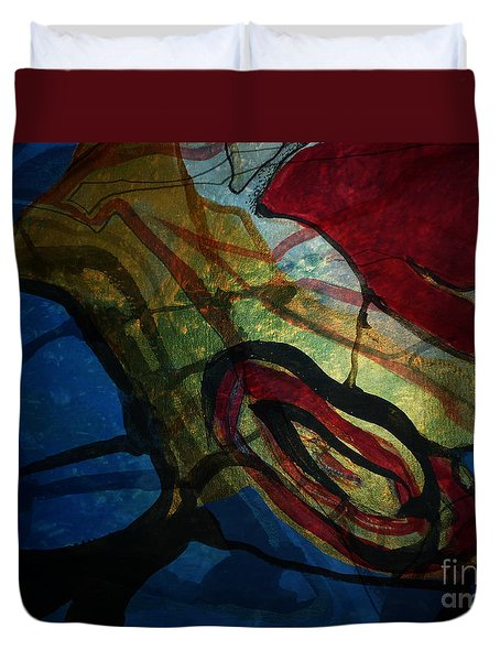 Abstract-31 Duvet Cover