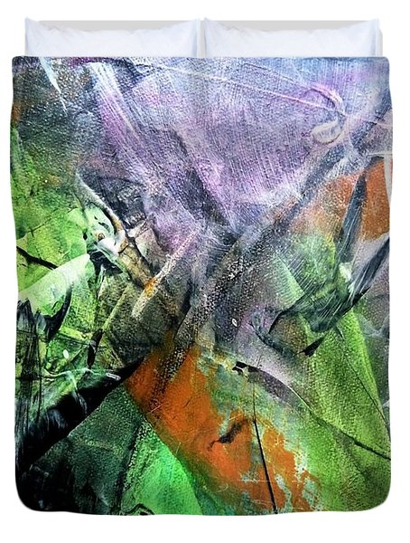 Abstract #321 Duvet Cover
