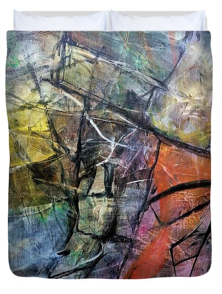 Abstract #322 Duvet Cover
