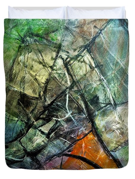 Abstract #323 Duvet Cover