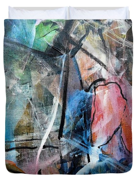 Abstract #325 Duvet Cover
