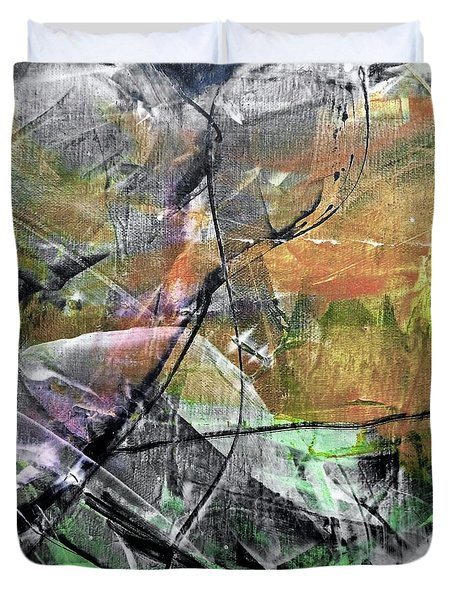 Abstract #327 Duvet Cover