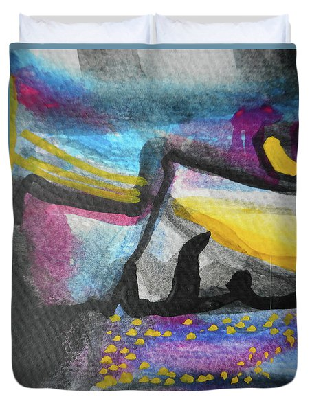 Abstract-4 Duvet Cover