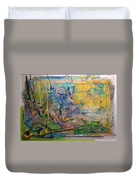 Abstract #42217 Duvet Cover