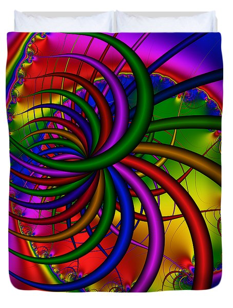 Abstract 523 Duvet Cover