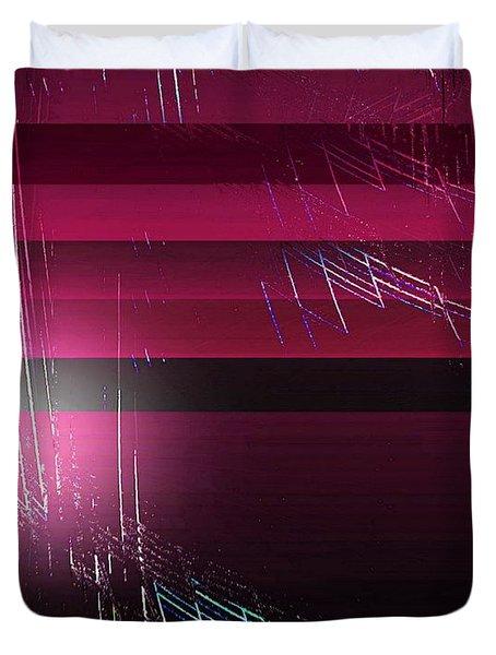 Abstract 529-2015 Duvet Cover by John Krakora