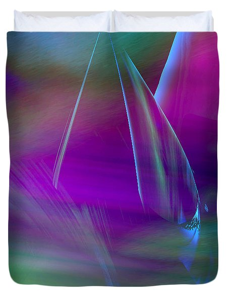 Abstract 845 Duvet Cover