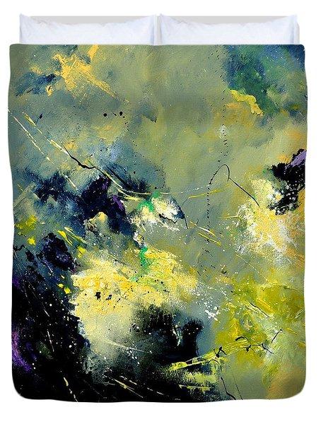 Abstract 8821603 Duvet Cover by Pol Ledent