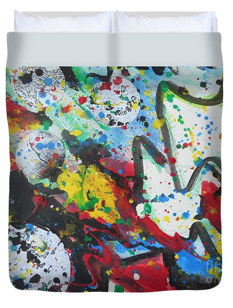 Abstract-9 Duvet Cover