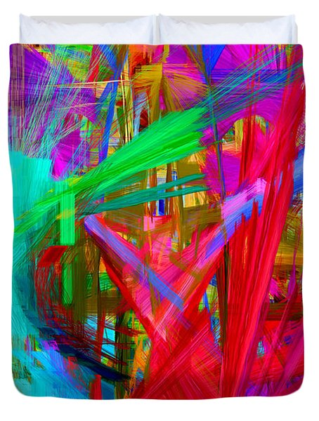 Abstract 9028 Duvet Cover