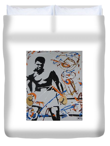 Abstract Ali Duvet Cover
