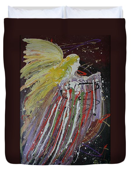 Abstract Angel Duvet Cover