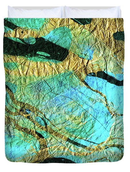 Abstract Art - Deeper Visions 3 - Sharon Cummings Duvet Cover