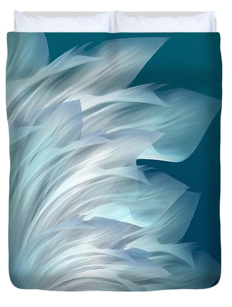 Abstract Art - Everlasting Grace By Rgiada Duvet Cover by Giada Rossi