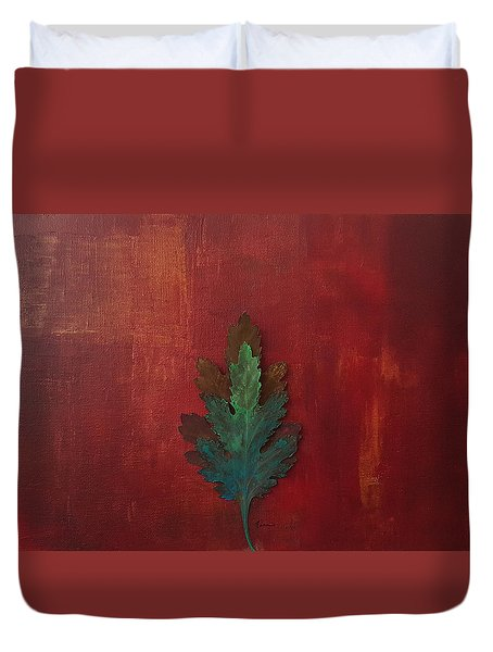 New Life Abstract Art Duvet Cover