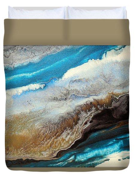 Abstract Beach 1 Duvet Cover